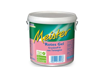 Meister Rotes Gel