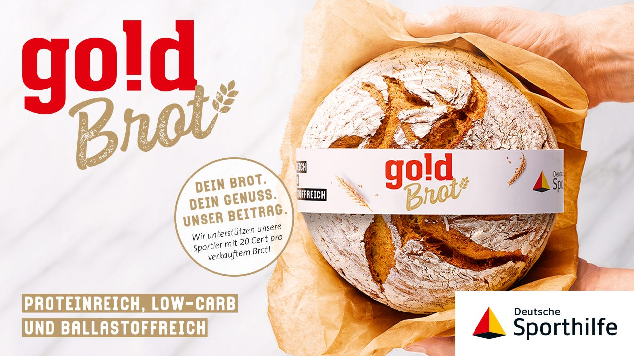 Goldbrot von Ulmer Spatz