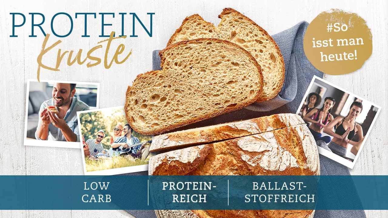 Proteinkruste von  Ulmer Spatz