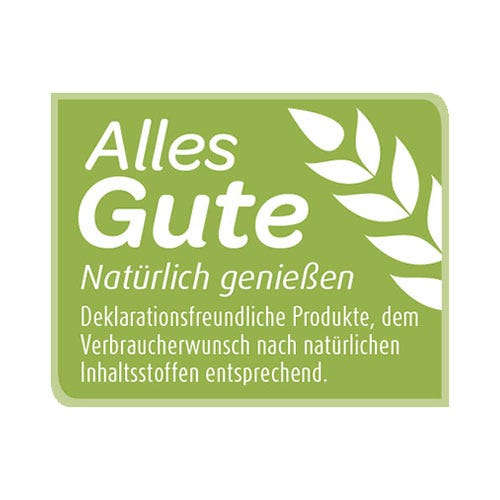 Produktkennzeichnung Alles Gute von Ulmer Spatz
